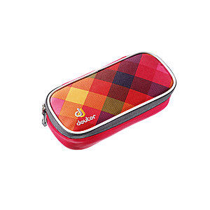 Deuter Pencil Case Berry Crosscheck, Schlamper Federmäppchen