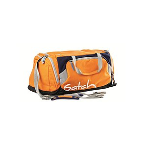 Satch Sporttasche by ergobag orange dunkelblau