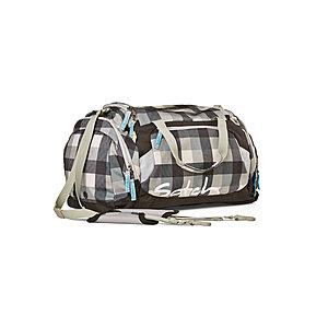 Satch Sporttasche Tweaker, schwarz grau kariert und inkl Nassfach