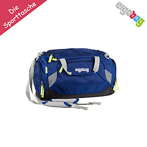 ergobag Sporttasche Blau SchlauBär