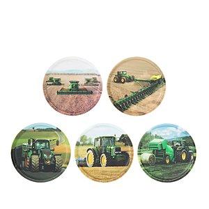 ergobag Klettie-Set Landmaschinen, 5 tlgs Kletties-Set zum wechseln ER100696