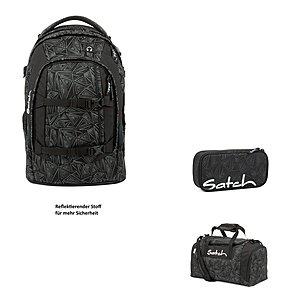 Satch Pack Ninja Bermuda 3er Schulrucksack Set