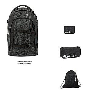 Satch Pack Ninja Bermuda 4er Schulrucksack Set
