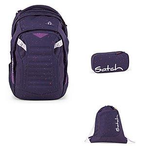Satch Match Sprinkle Space Schulrucksack Set 3tlg