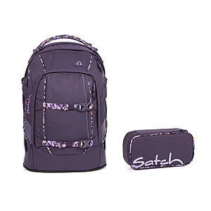 Satch Pack Mysterious Rush Schulrucksack Set 2tlg