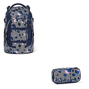 Schulrucksaecke - Satch Pack Stoney Mony 2tlg Schulrucksack Set - Onlineshop Schulranzen.net