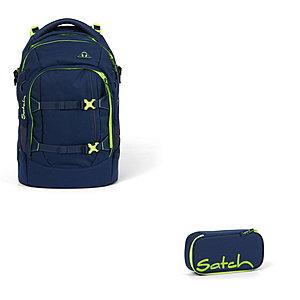 Schulrucksaecke - Satch Pack Toxic Yellow 2tlg Schulrucksack Set - Onlineshop Schulranzen.net