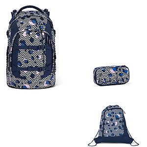 Schulrucksaecke - Satch Pack Stoney Mony 3tlg Schulrucksack Set - Onlineshop Schulranzen.net