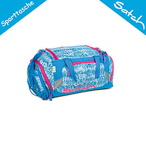Satch Sporttasche Aloha Blue
