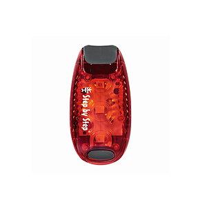 Hama LED Sicherheits Klemmleuchte rot, Klippverschluss HA136265