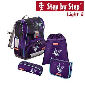 Step by Step Light2 Pegasus Dream, 4 tlg Schulranzen Set
