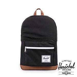 Herschel Pop Quiz Black Tan Schulrucksack HER10131