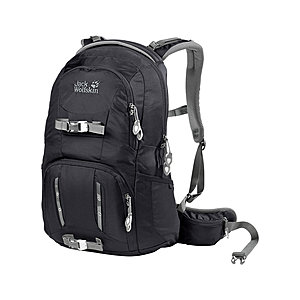 Jack Wolfskin Acs Photo Pack, Laptop Rucksack für Kameras in schwarz
