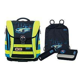 McNeill Ergo Light Compact Flex Polizei DIN 4tlg Schulranzen Set
