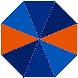 McNeill Taschenschirm Arrow