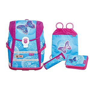 McNeill 4 teiliges Schulrucksack Set Ergo Light Move Gently