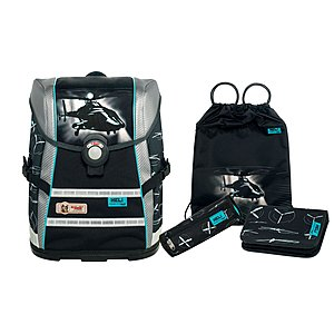 McNeill 4 teiliges Schulrucksack Set Ergo Light Move Heli