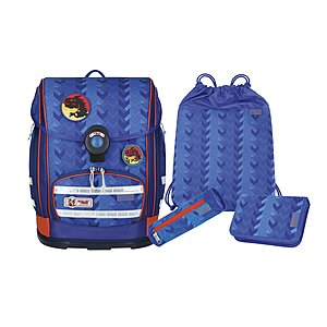 McNeill Ergo Explorer Arrow Schulranzen-Set 4 tlg.