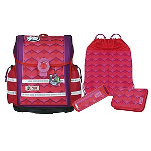 McNeill Ergo Light 912 S Violet Schulranzen-Set 4 tlg.