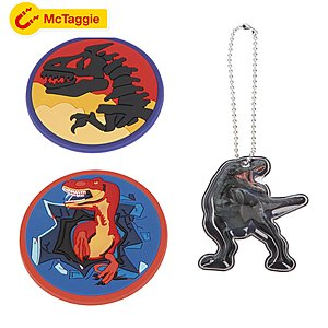 McNeill McTaggies Magneti-Set 3 tlg Dino