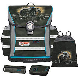 McNeill Schulranzen Set Ergo Light 912 Dakar 4tlg
