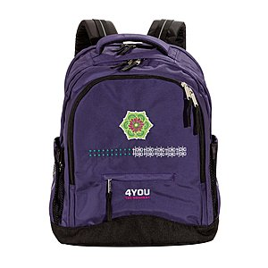 Ornaments Ethno 4YOU Flash Schulrucksack Compact 599