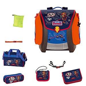 Scout Schulranzen Mega Exklusiv Ninja Luxus Set mit Sporttasche