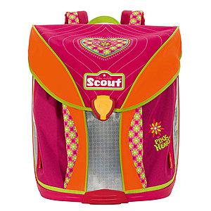 Schulranzen Scout Nano Pink Heart - schlanker Grundschulranzen