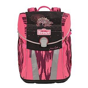 Scout Schulrucksack Sunny Pink Dino, für die Gr...
