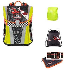 Schulranzen - Scout Sunny Red Racer 4 tlg. Schulranzen Set - Onlineshop Schulranzen.net