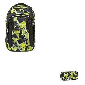 Satch Match Gravity Jungle 2er Schulrucksack Set
