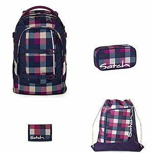 Satch Pack Berry Carry 4tlg. Schulrucksack Set