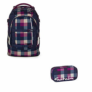 Satch Pack Berry Carry Schulrucksack Set 2 tlg.