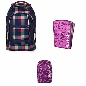Satch Pack Berry Carry Schulrucksack Set 3 tlg.