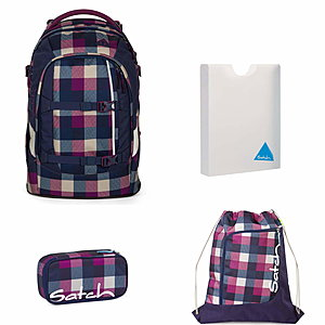 Satch Pack Berry Carry Schulrucksack Set 4 tlg.