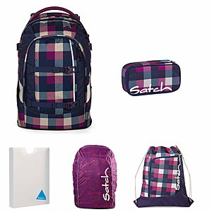 Satch Pack Berry Carry Schulrucksack Set 5 tlg.