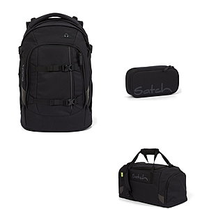Satch Pack Blackjack 3tlg Schulrucksack-Set