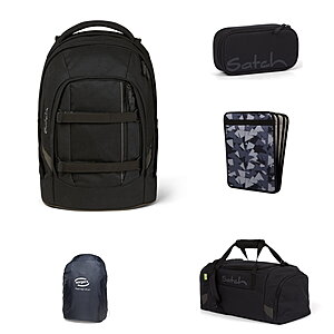 Satch Pack Blackjack 5tlg Schulrucksack-Set