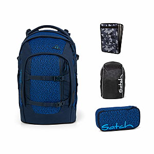 Satch Pack Blue Moon Schulrucksack Set 4tlg