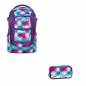 Satch Pack Hurly Pearly Schulrucksack Set 2 tlg.