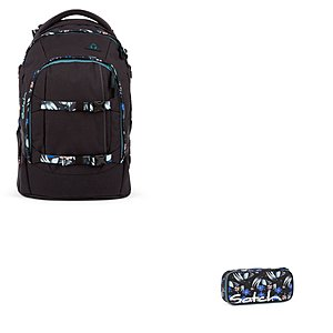 Satch Pack Magic Mallow 2 tlg Schulrucksack Set