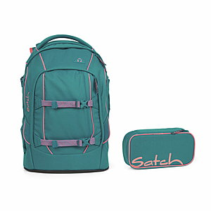 Satch Pack Ready Steady Schulrucksack Set 2tlg