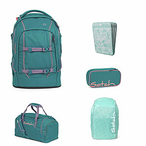 Satch Pack Ready Steady Schulrucksack Set 5tlg