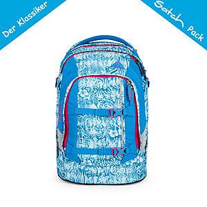 Satch Pack Schulrucksack Aloha Blue