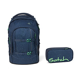 Satch Pack Space Race Schulrucksack Set 2tlg