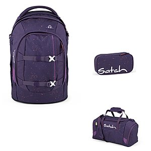 Satch Pack Sprinkle Space Schulrucksack Set 3tlg