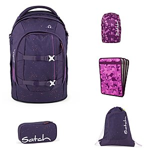 Satch Pack Sprinkle Space Schulrucksack Set 5tlg