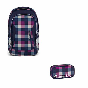 Satch Sleek Berry Carry Rucksack Set 2 tlg.
