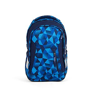 Satch Sleek Schulrucksack Blue Crush
