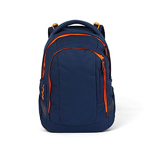 Satch Sleek Toxic Orange Rucksack